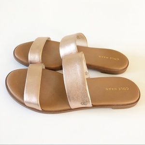 Cole Haan Rose Gold Anica Sandals 7